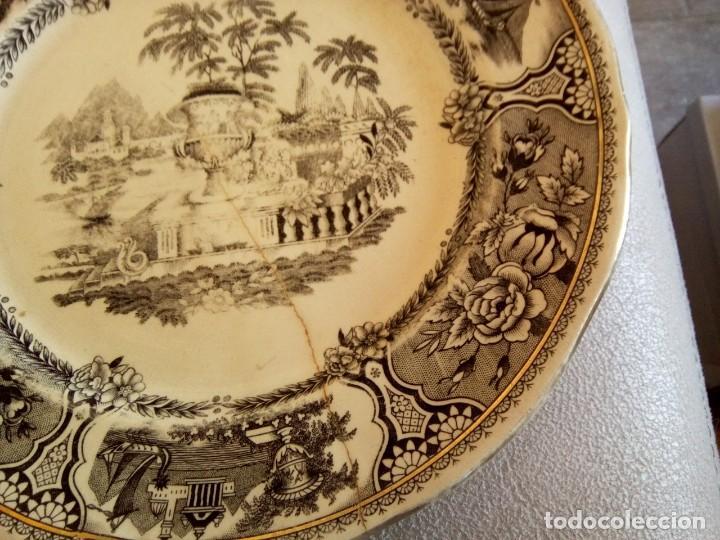 Antigüedades: *PLATO SAN CLAUDIO. GRIFE Y ESCODA. (Rf( Gyg4/a) - Foto 2 - 168344300