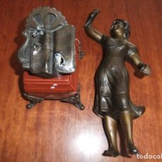 Antigüedades: ESCULTURA/FIGURA ANTIGUA DE MUJER PRINCIPIOS SIGLO XX?. Lote 168369308