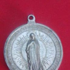Antigüedades: MEDALLA DE LA PURÍSIMA CONCEPCION. 3,8 CM DE DIAMETRO.. Lote 168379564