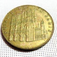 Antigüedades: MEDALLA NOTRE DAME DE PARIS 2006. Lote 168381600