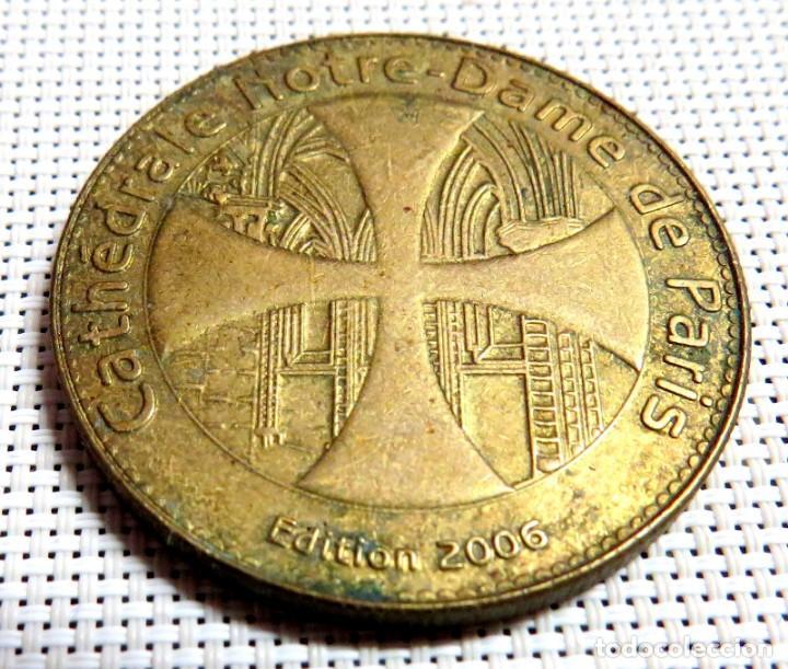 Antigüedades: MEDALLA NOTRE DAME DE PARIS 2006 - Foto 7 - 168381600