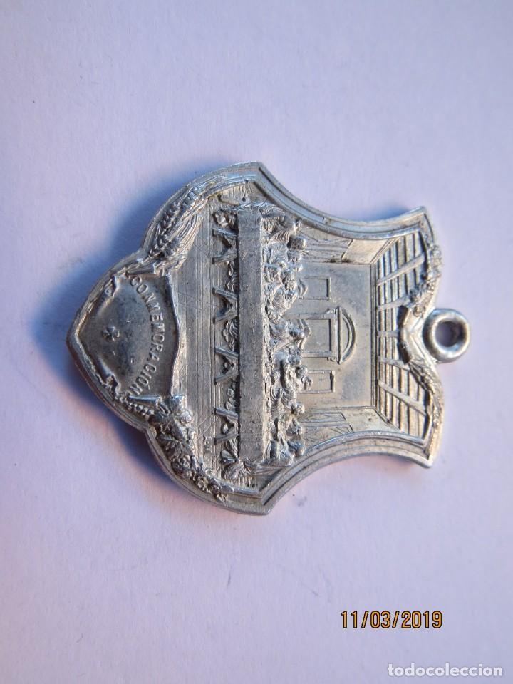 Antigüedades: MEDALLA ALUMINIO 1907-JUEVES EUCARISTICOS - Foto 4 - 168384012