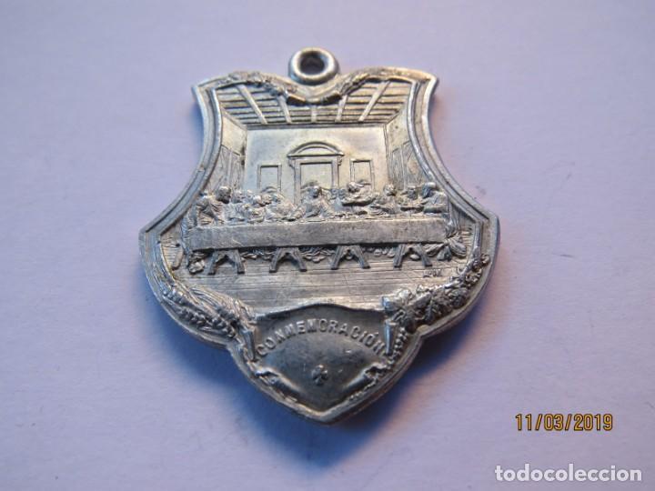 Antigüedades: MEDALLA ALUMINIO 1907-JUEVES EUCARISTICOS - Foto 5 - 168384012