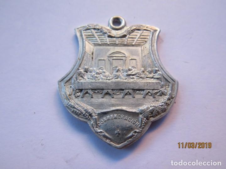 Antigüedades: MEDALLA ALUMINIO 1907-JUEVES EUCARISTICOS - Foto 7 - 168384012