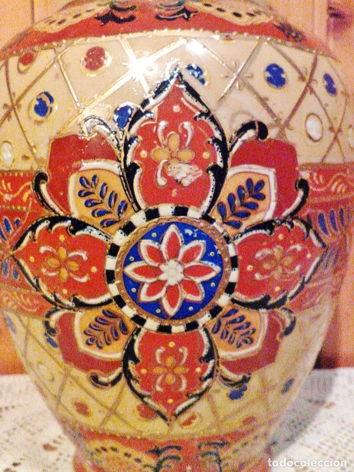 Antigüedades: JARRÓN DE PORCELANA JAPONESA, VINTAGE. - Foto 3 - 168387408