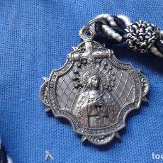 Antigüedades: SEMANA SANTA SEVILLA - MEDALLA HDAD SOLEDAD SAN BUENAVENTURA - METAL, NO ALUMINIO. Lote 168416932