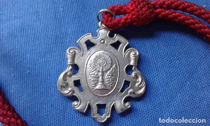 SEMANA SANTA SEVILLA - MEDALLA HDAD SOLEDAD SAN GONZALO (Antigüedades - Religiosas - Medallas Antiguas)