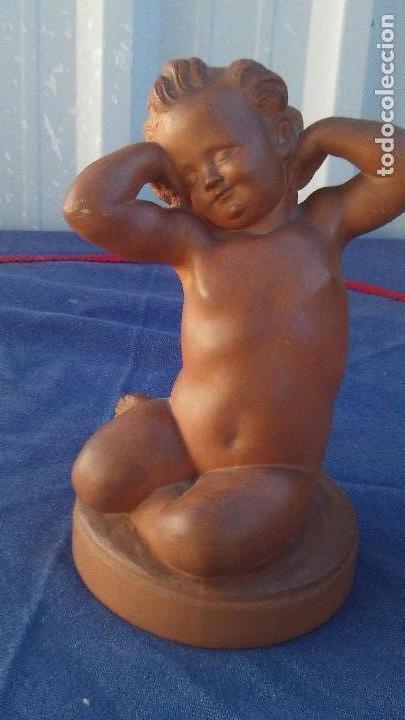 Antigüedades: fugura en terracota firmada bolinches,luis bolinches - Foto 4 - 168418060