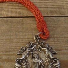 Antigüedades: EL CASTILLO DE LAS GUARDAS, SEVILLA, MEDALLA CON CORDON HERMANDAD DE SAN JUAN BAUTISTA. Lote 168418812