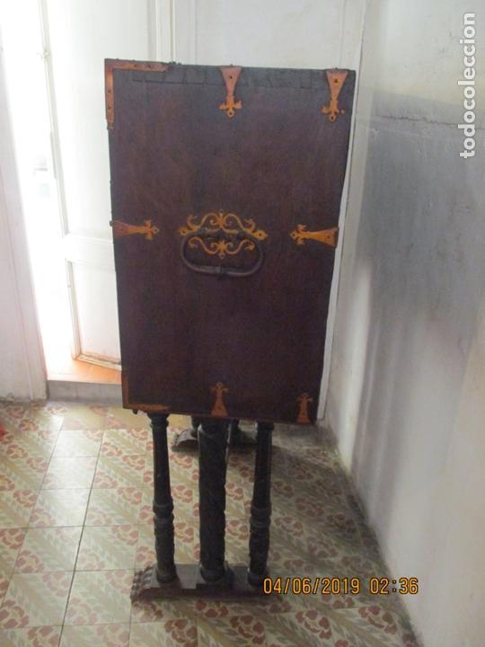 Antigüedades: bargueño castellano siglo XVIII - Foto 2 - 168431668