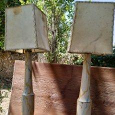 Antigüedades: PAREJA LAMPARITAS. Lote 168445628