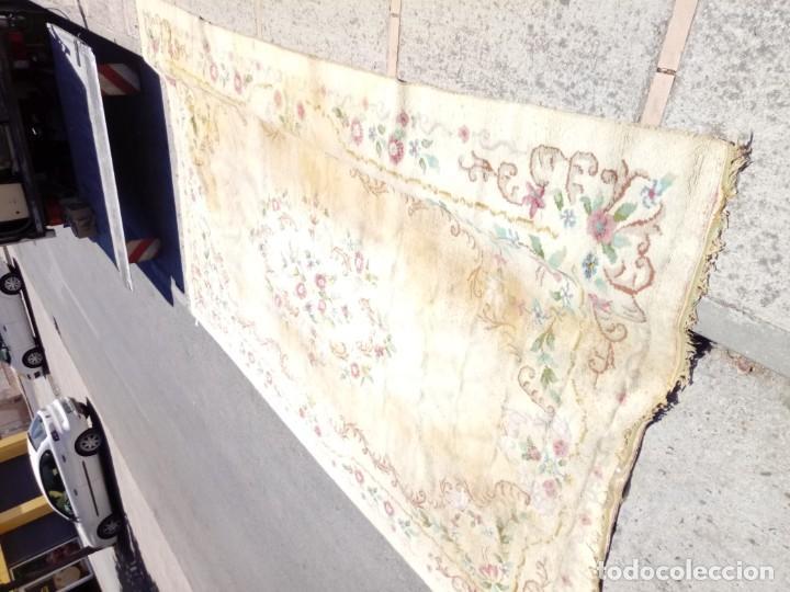 ALFOMBRA GRANDISIMA DE PALACIO EN JEREZ (Antigüedades - Hogar y Decoración - Alfombras Antiguas)