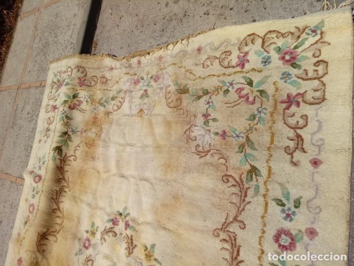 Antigüedades: Alfombra grandisima de palacio en jerez - Foto 8 - 168458720