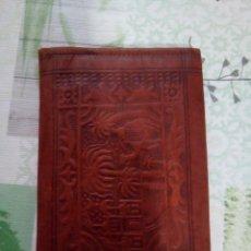 Antigüedades: CARTERAS ARTESANA ANTIGUA. Lote 168461744