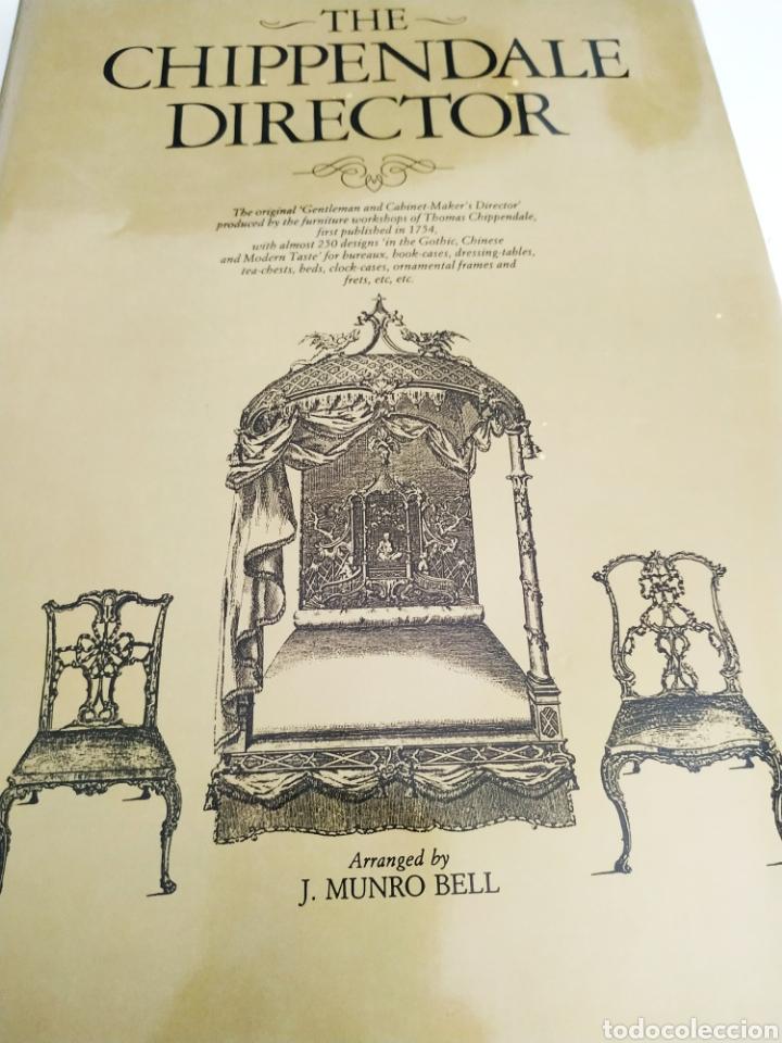 THE CHIPPENDALE DIRECTOR J MUNRO BELL (Antigüedades - Muebles Antiguos - Sillas Antiguas)