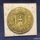 Antigüedades: PISAPAPELES REPLICA SELLO CERA DE DOCUMENTO O PLOMO MARIA TERESA S XVII HOLANDA ALEMANIA 15X15CMS . Lote 168490368
