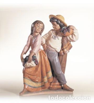"""REF: 01012359 """"VENDIMIA ROMÁNTICA"""" LLADRÓ (Antigüedades - Porcelanas y Cerámicas - Lladró)"""