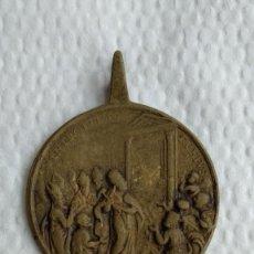 Antigüedades: MEDALLA APERTURA PUERTA SANTA/ESCALERA SANTA AÑO 1750. Lote 168508016