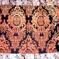 Antigüedades: CORTINA RETAL DE TELA 180 X 65 CM.. Lote 168518076