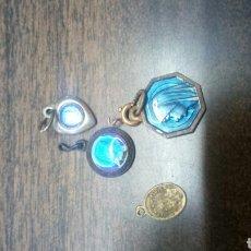 Antigüedades: LOTE DE CUATRO MEDALLITAS. Lote 168550946