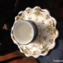 Antigüedades: MANCERINA CON VASO PARA CHOCOLATE . Lote 168555644