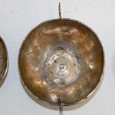 Antigüedades: CONJUNTO DE 3 PIEZAS REALIZADAS EN PLATA DE LEY. PRINCIPIOS DEL SIGLO XX. MANUFACTURA PERUANA. Lote 168567460