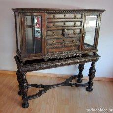 Antigüedades: ANTIGUO MUEBLE BAR VITRINA. Lote 168602652