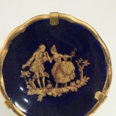 Antigüedades: PLATO MINIATURA DE LIMOGES. Lote 168617118