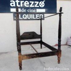 Antigüedades: CAMA COLONIAL CON DOSEL . Lote 168620300