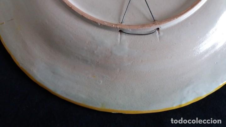 Antigüedades: Preciosos platos antiguos de cerámica de Talavera. Ruiz de Luna - Foto 12 - 168621556
