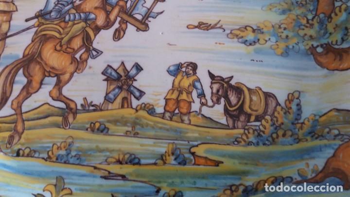 Antigüedades: Preciosos platos antiguos de cerámica de Talavera. Ruiz de Luna - Foto 17 - 168621556