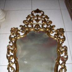 Gran espejo madera pan de oro barroco grande 1 comprar - Espejos grandes segunda mano ...