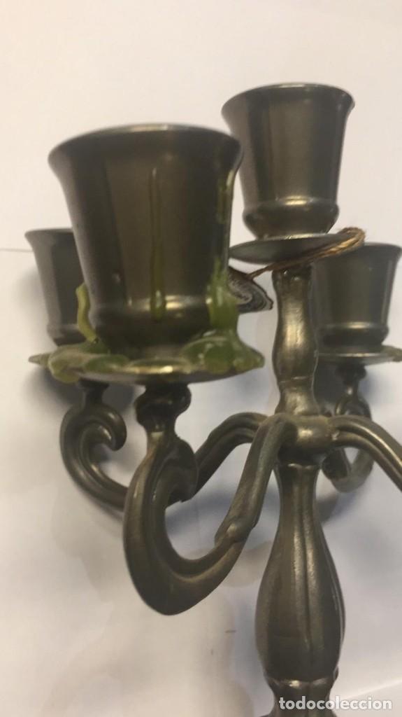 Antigüedades: Candelabro de cinco brazos - Foto 3 - 168626080