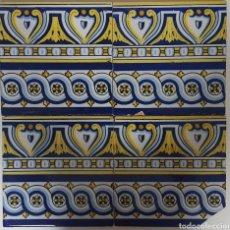 Antigüedades: RAJOLA CATALANA, BALDOSA.. Lote 168627132