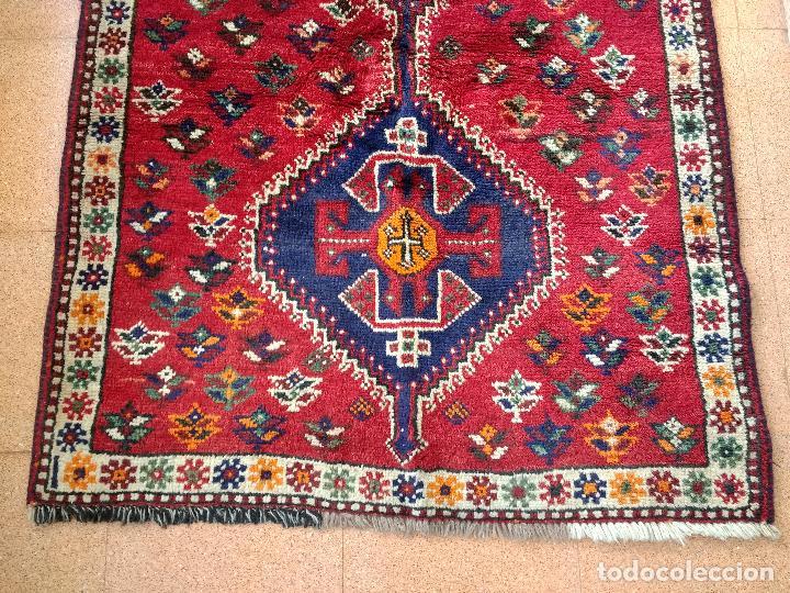 Antigüedades: Alfombra Persa Irán. Hamedan. Lana 100%. 153X105 cm - Foto 2 - 168630794