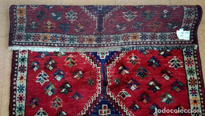Antigüedades: Alfombra Persa Irán. Hamedan. Lana 100%. 153X105 cm - Foto 3 - 168630794