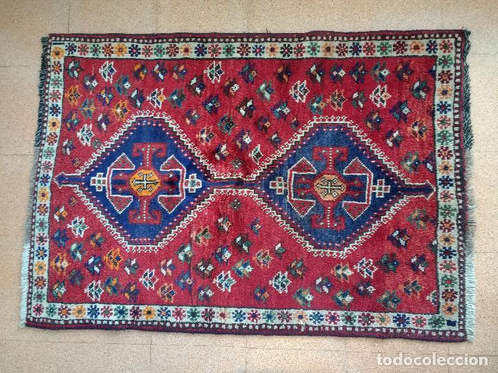 Antigüedades: Alfombra Persa Irán. Hamedan. Lana 100%. 153X105 cm - Foto 5 - 168630794