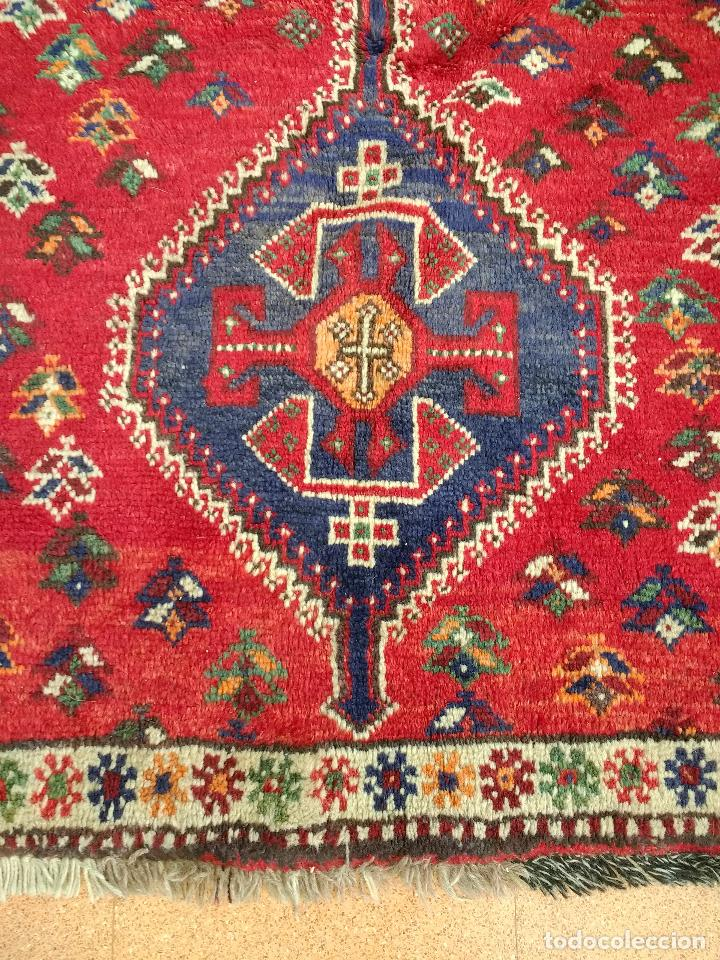 Antigüedades: Alfombra Persa Irán. Hamedan. Lana 100%. 153X105 cm - Foto 6 - 168630794
