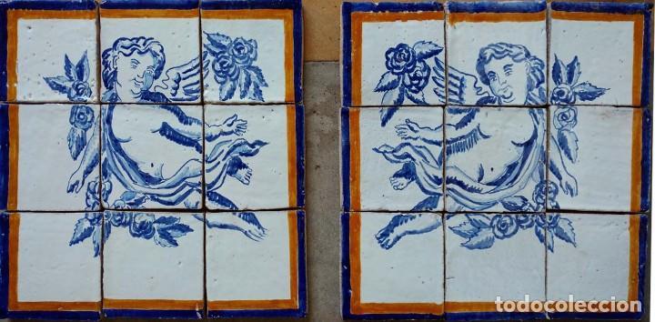 Antigüedades: Pareja angelotes - Foto 3 - 168631168