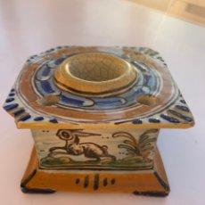 Antigüedades: TINTERO TALAVERA DE NIVEIRO. Lote 168631545