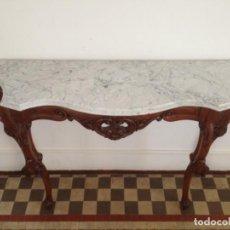 Antiquités: CONSOLA/RECIBIDOR ANTIGUA. Lote 168645020