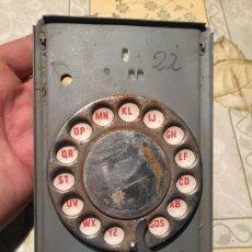 Antigüedades: ANTIGUA AGENDA MÉCANICA TELEFÓNICA MARCA CINCERONE AUTOMÁTICA AÑOS 70 . Lote 168646392