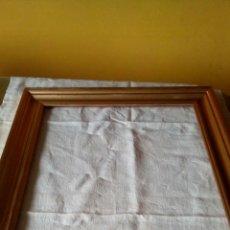 Antigüedades: MARCO DE MADERA DORADO.. Lote 168661210