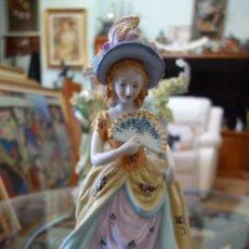 Antigüedades: FIGURA DE PORCELANA ALEMANA MEISSEN DEL SIGLO XX. Lote 168671940