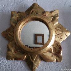 Antigüedades: MARCO SOL DE MADERA ANTIGUO.. Lote 168686237