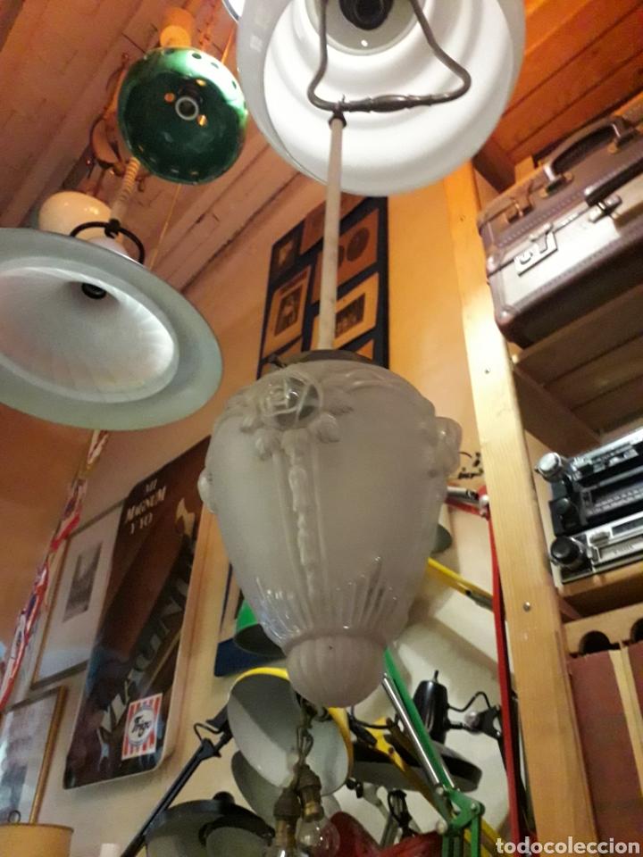 LÁMPARA TECHO CRISTAL (Antigüedades - Iluminación - Lámparas Antiguas)