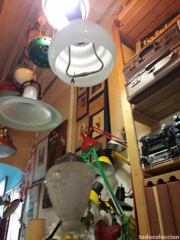 Antigüedades: Lámpara techo cristal - Foto 3 - 168704401