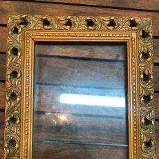 Antigüedades: ANTIGUO MARCO DE MADERA - MEDIDA TOTAL 32X26 CM Y FOTO 18X24 CM. Lote 168717148