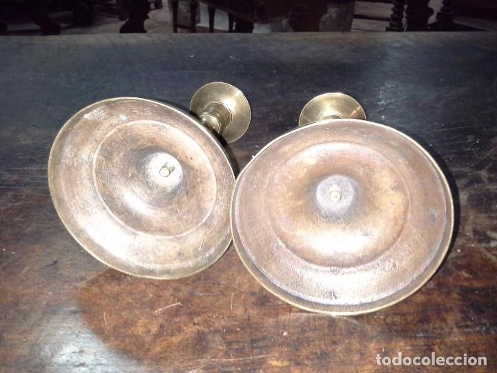 Antigüedades: PAREJA CANDELABROS - Foto 6 - 168721800