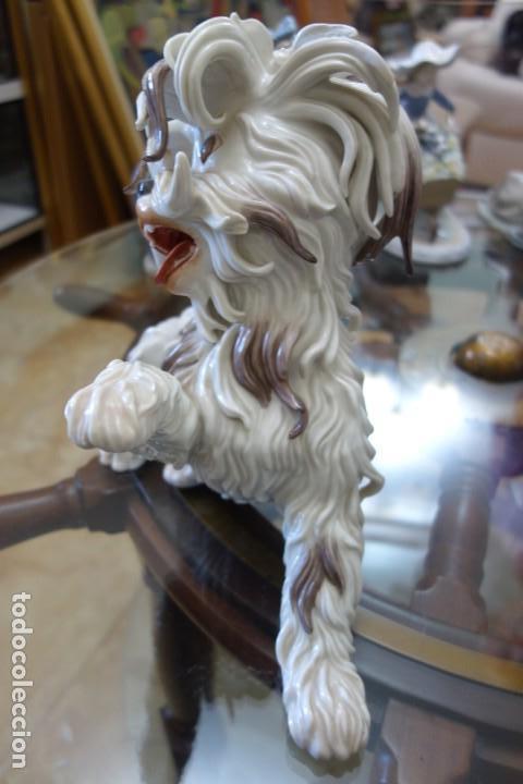 Antigüedades: FIGURA DE PORCELANA ALGORA DEL SIGLO XX - Foto 3 - 168749200